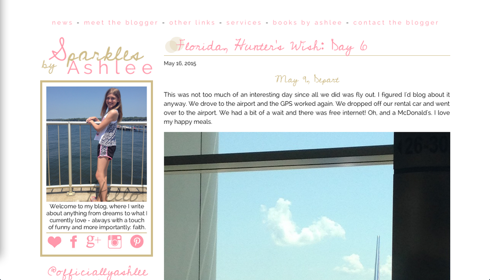 I was trying to pull off an improved version of my first Blogger design. Didn't work. AT ALL.