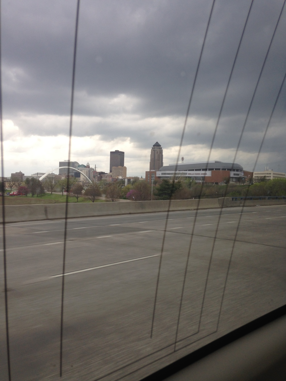 I love Des Moines and Wells Fargo Arena, I have yet to walk the nearby bridge but I will