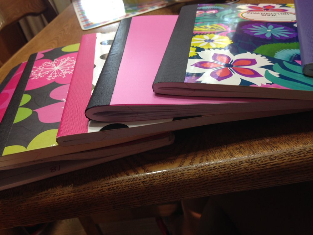 can't even count the amount of journals I've bought at the Dollar General