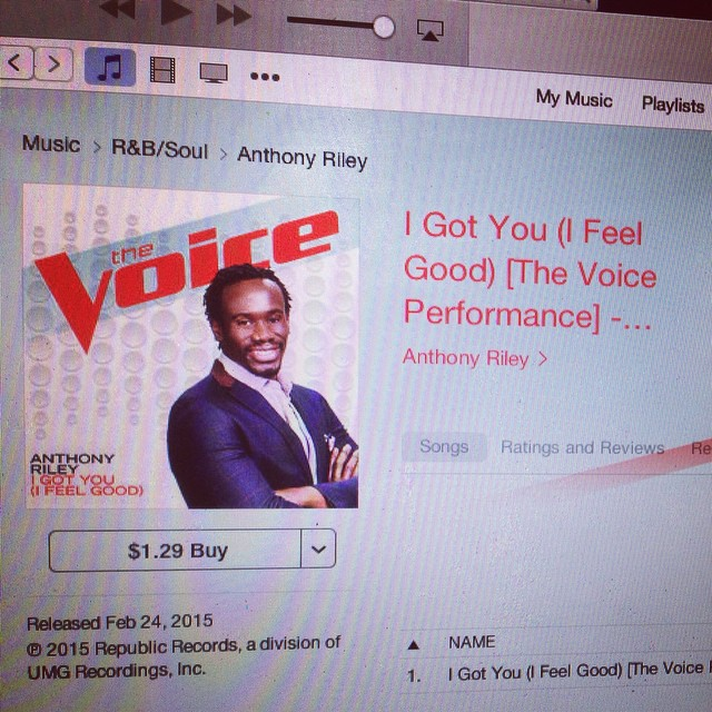My Blind Audition Song! Get it on ITunes Now!