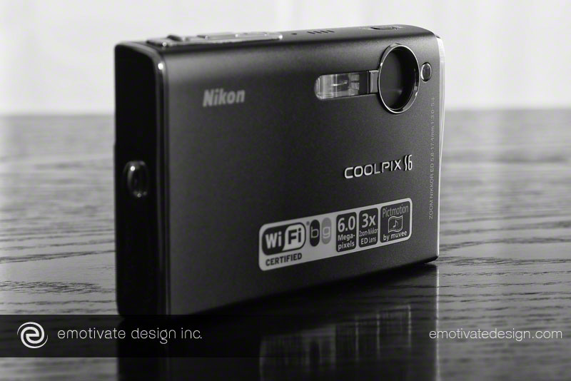 The Nikon Coolpix S6 point-and-shoot. While it had no manual settings, it took excellent pictures - as long as you weren't indoors.