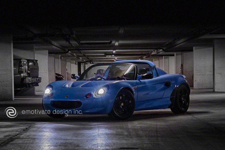 Hot Blue Elise III