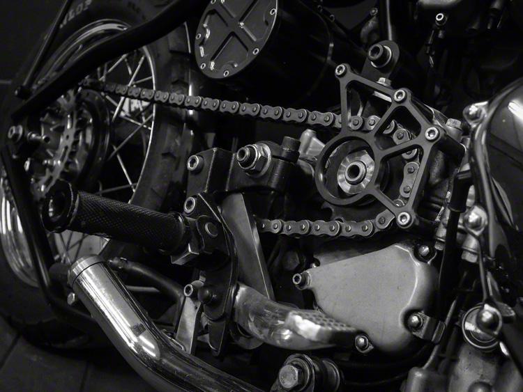 Triumph Engine Room