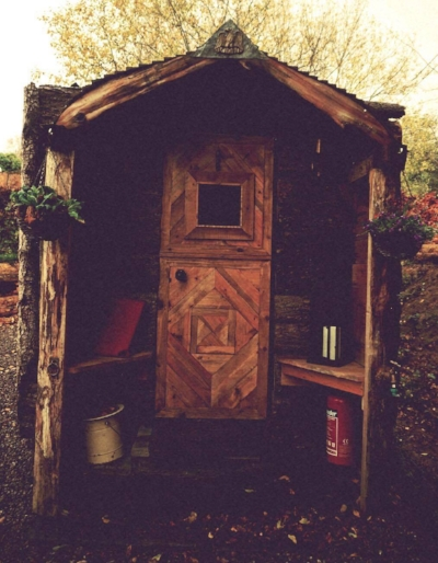 I did consider moving into this hut at Glastonbury for the next three weeks and hibernating my cares away.