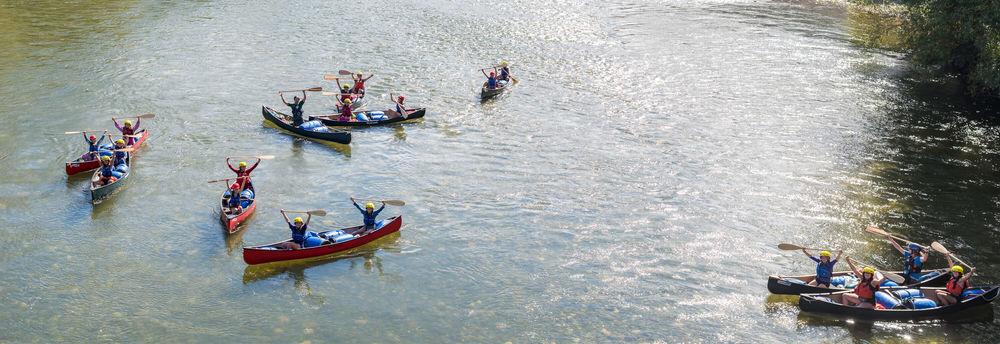 canoe wave