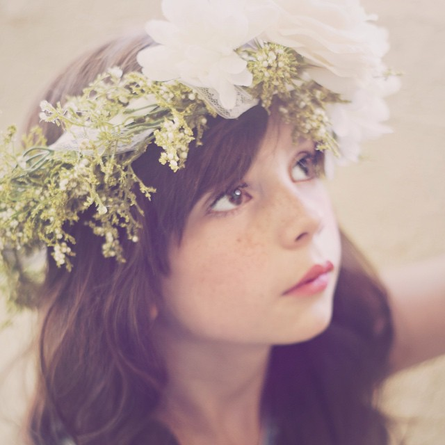 Another photo from the session I did with my niece.  I 💜 this one. #flowercrownfriday #abqphotographer #albuquerquephotography