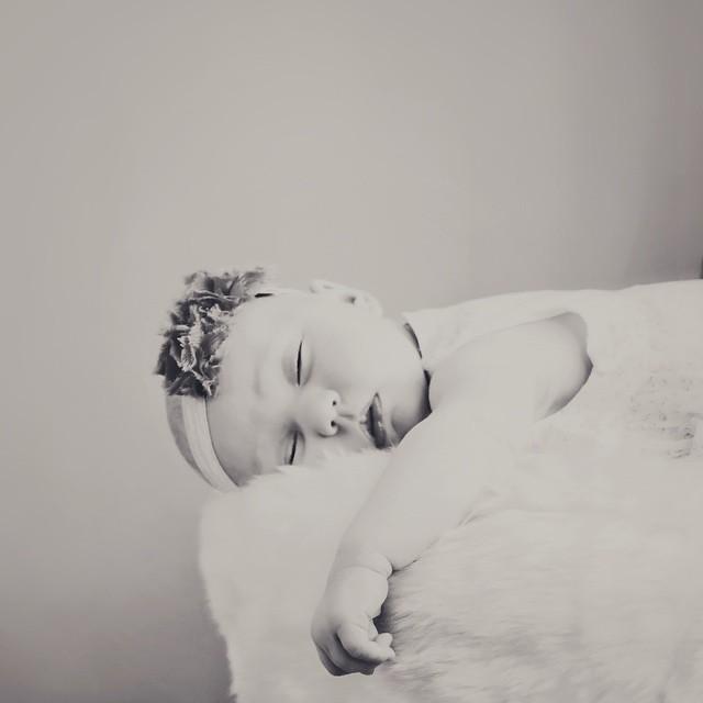 Is it bedtime yet?  #sleepy #newbornpictures #rubybmine