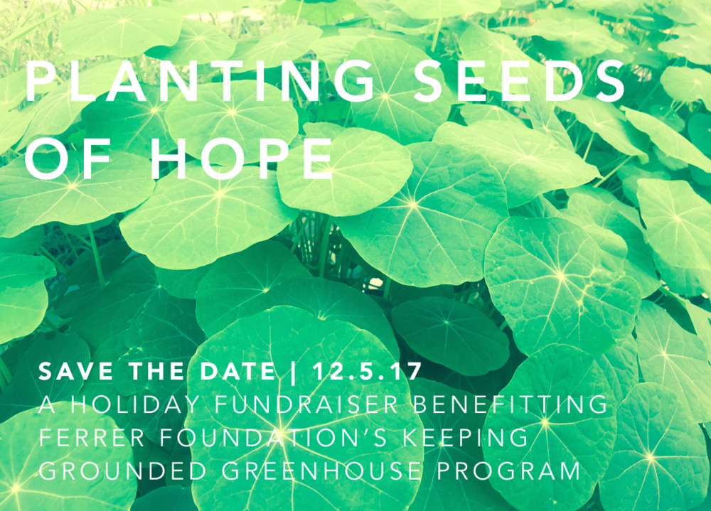 Planting Seeds Of Hope Fundraiser