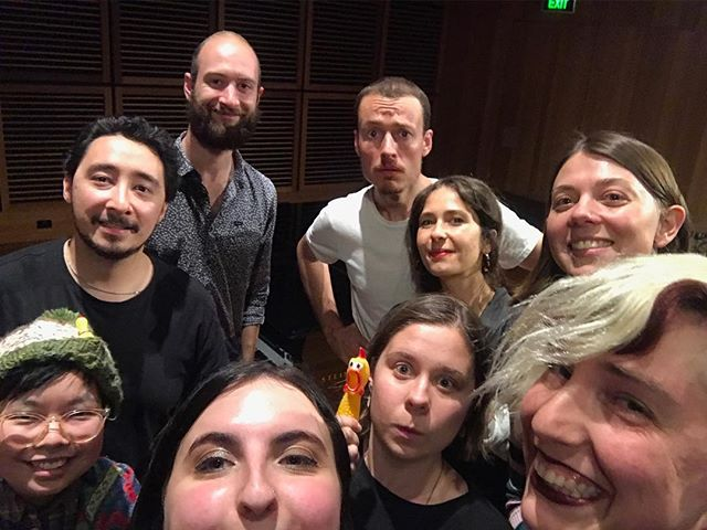 "post recording @jas.biz's ""shallow listening"" on Friday night !"