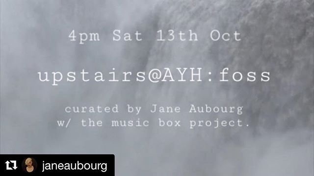 This Sat at 4pm upstairs at the @aussieyouthhotel we'll be making music outside the usual order of things. This month is curated by @janeaubourg - we'll be experimenting with a collaborative graphic score made in Iceland. Come along to hear not only the music, but the conversation that happens around it! • Contributors to the gorgeous score include @audkoch @studiocatawampus @jen_tayl0r @dannyjlevar @rayawarner @adalheis @hannamations @alexmooreillustration @lillustrate @kkingillustration @boatofbees @paperbicycle @jacobwhitlowart • #livemusic #newmusic #graphicscore #sydney