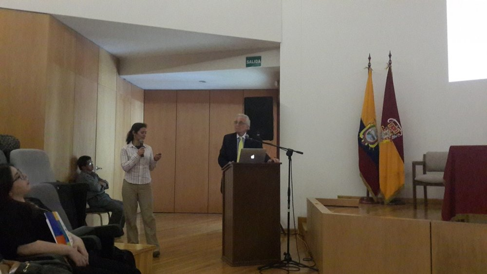 Study PI Dr. Robert Blum makes opening remarks