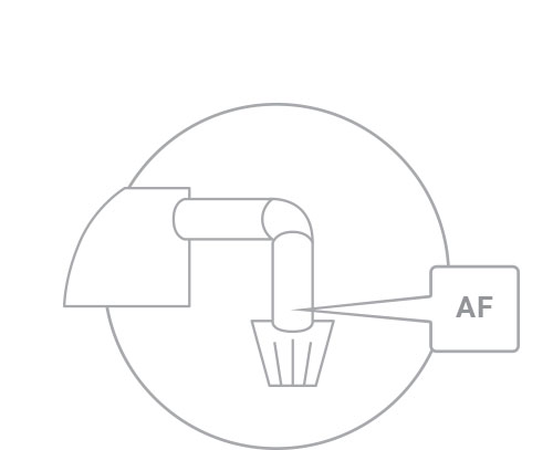 1. Locate air filter