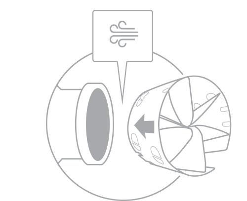 3. Install arrow facing engine