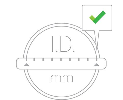 4. Measure the Inside Diameter