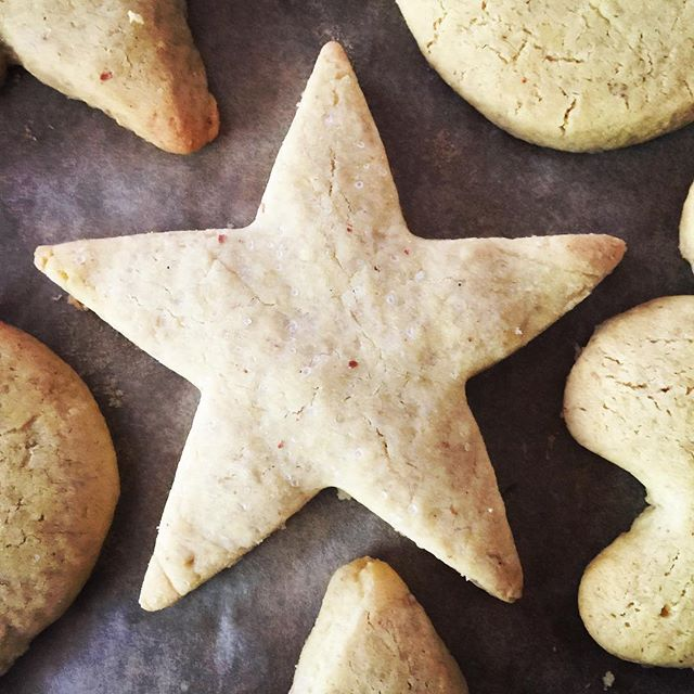 Feeling festive... baking cookies and watching Christmas movies.  #glutenfree #dairyfree #eggfree #grainfree #aquafaba #sugarcookies #allergyfriendly #inclusive #baking #feelingfestive #veganfriendly #itsbeginningtolookalotlikechristmas #wholefoods