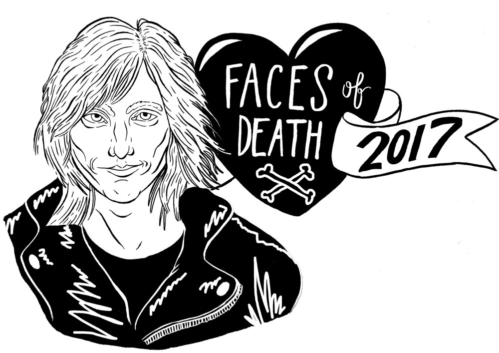 TOM PETTY:  FOR FACES OF DEATH 2018