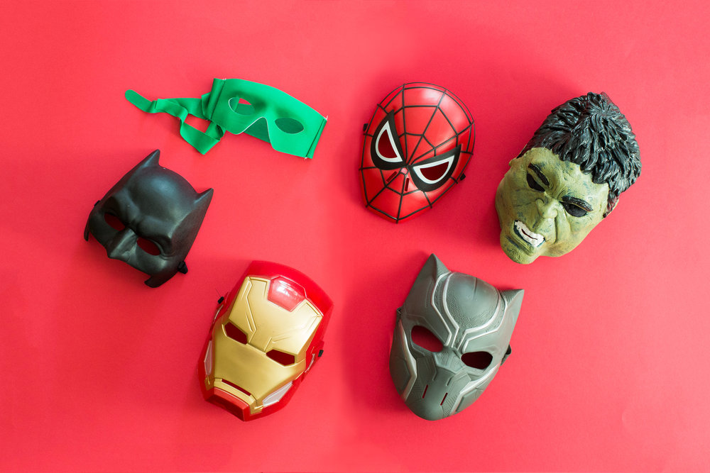 super-hero-props-for-photo-booth-brisbane-hire-superhero-event-green-lantern-spider-man-mask-ironman-batman-black-panther-the-hulk.jpg