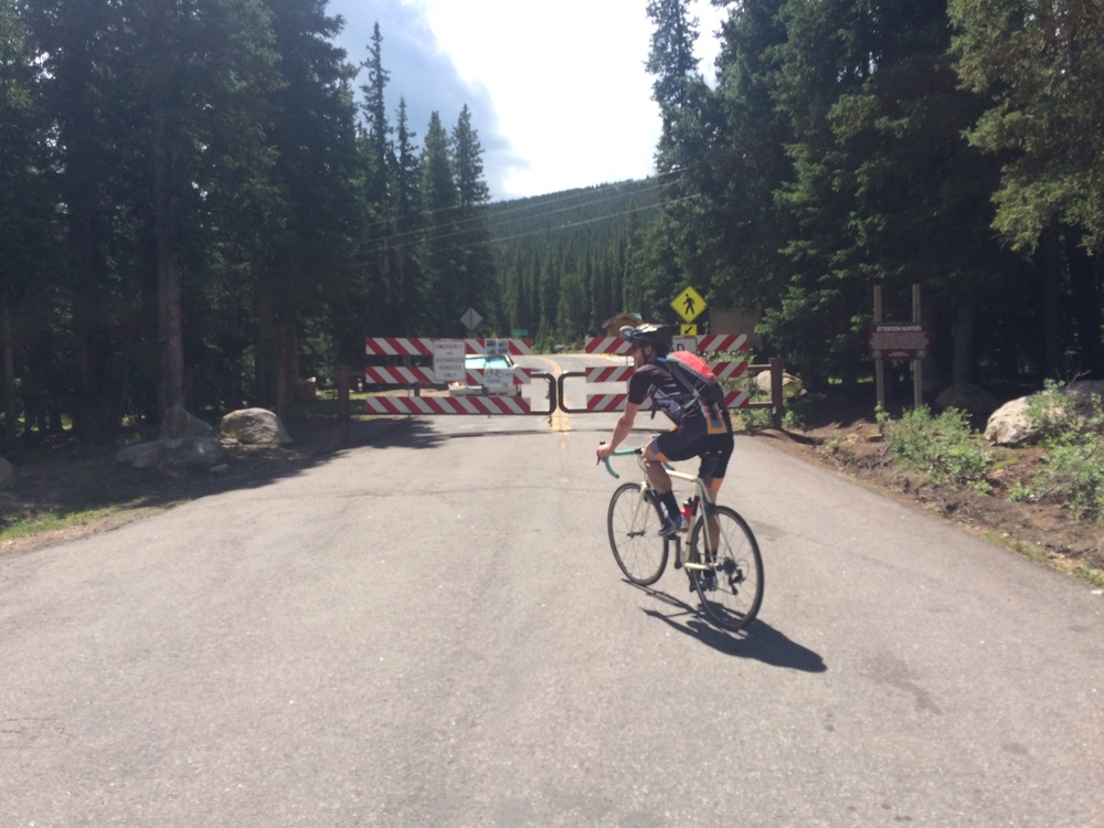 Once in a life time opportunity to ride Mt Evans Rd without any cars!