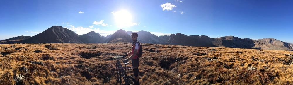 Indian Peaks backdrop from Niwot Ridge, CO