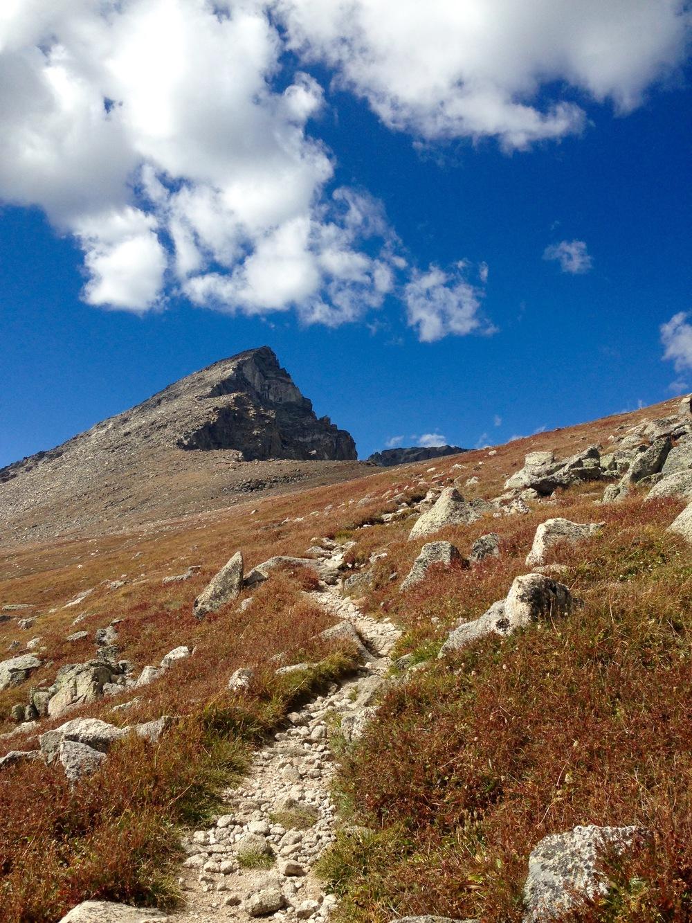 S Arapaho Peak, 13,300 ft
