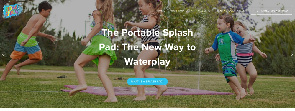 Jason Khoo - Play & Splash Website