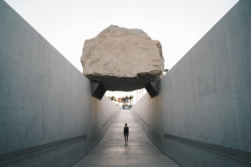 big rock + me