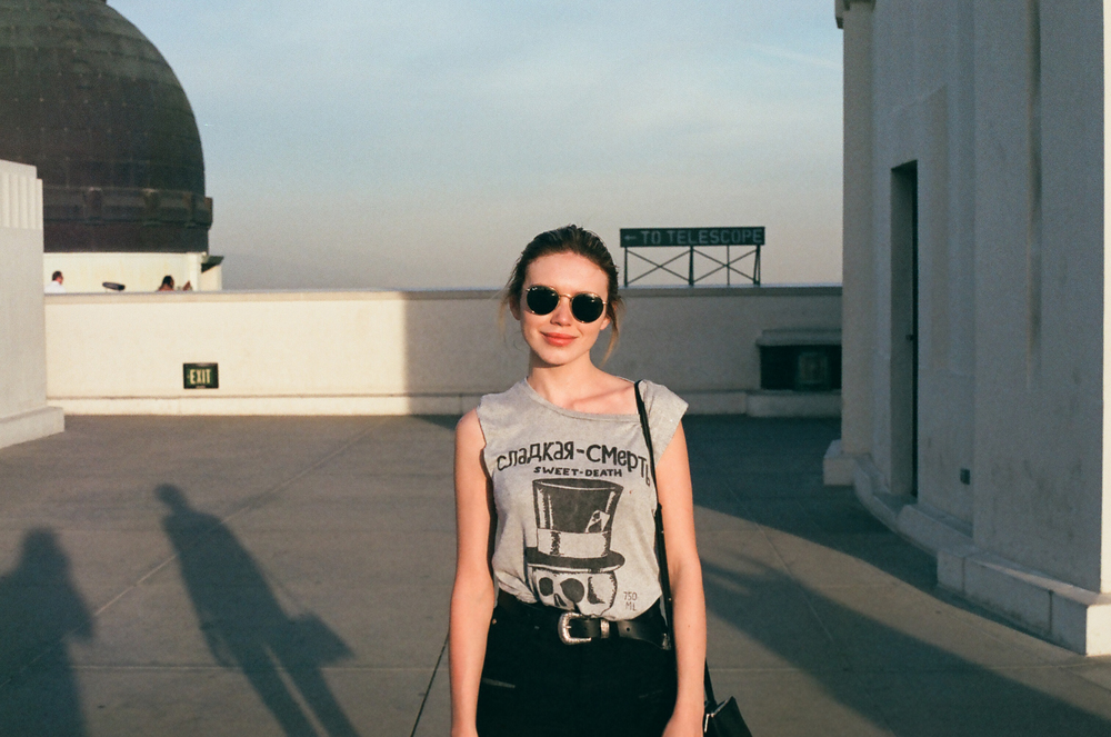 Me, Griffith Observatory