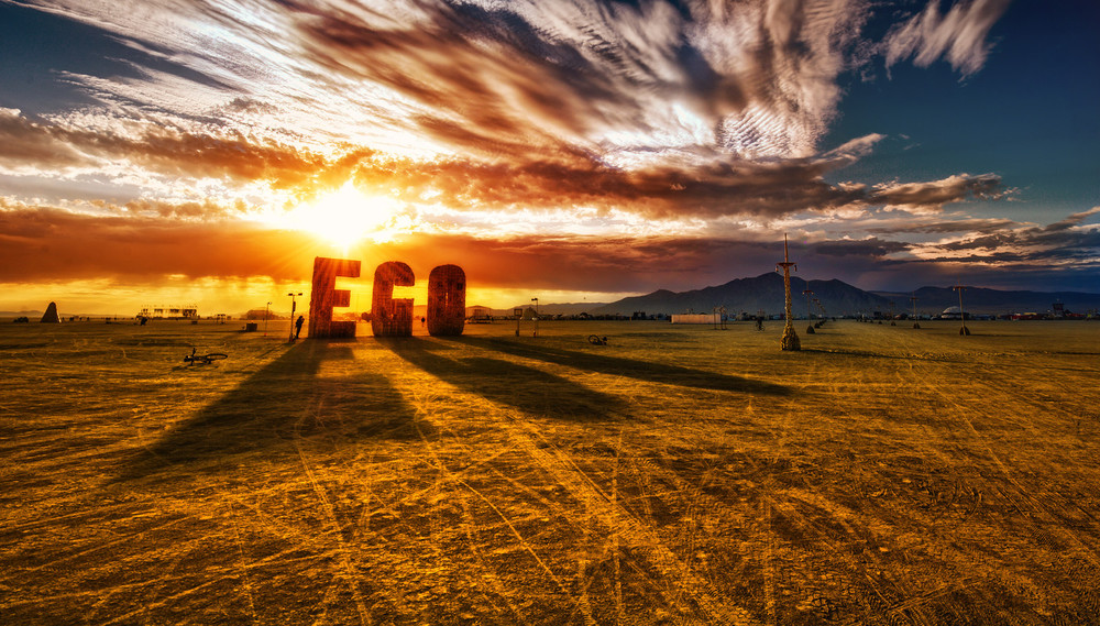 'EGO' - Black Rock City, 2012 - Artist:  Laura Kimpton & Michael Garlington -  Photo: Trey Ratcliff