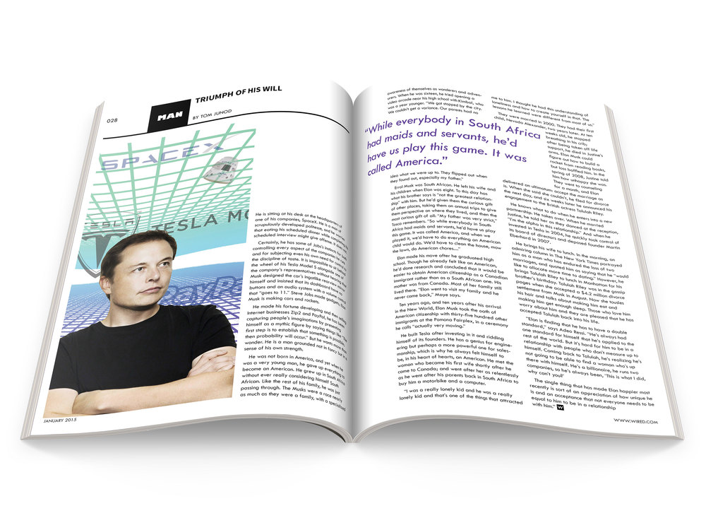 Magazine Spread: WIRED-inspired — Anna Marie Canaves