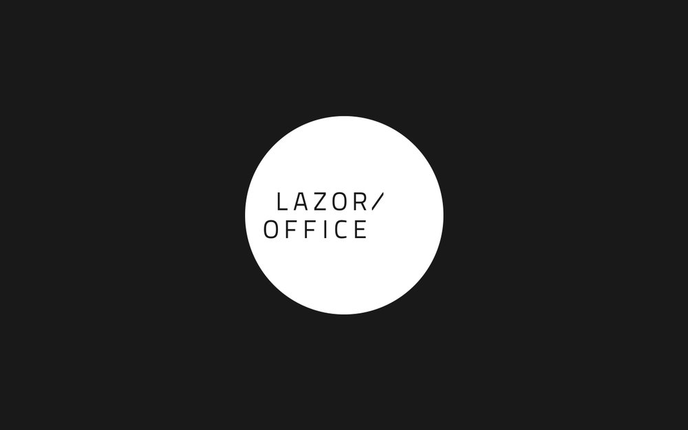 ... To Create An Alternate Version Of The Logomark That Highlighted The  Origin Of Lazor Office As A Founding Partner Of The Modern Furniture  Company Blu ...