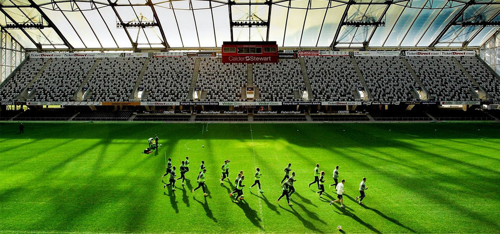 Get up close and personal with NZ's newest sports stadium.