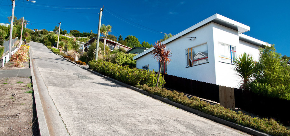 The steepest street in the world. Think you can run up it?