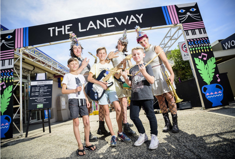 Barkly Square Laneway Festival 2016