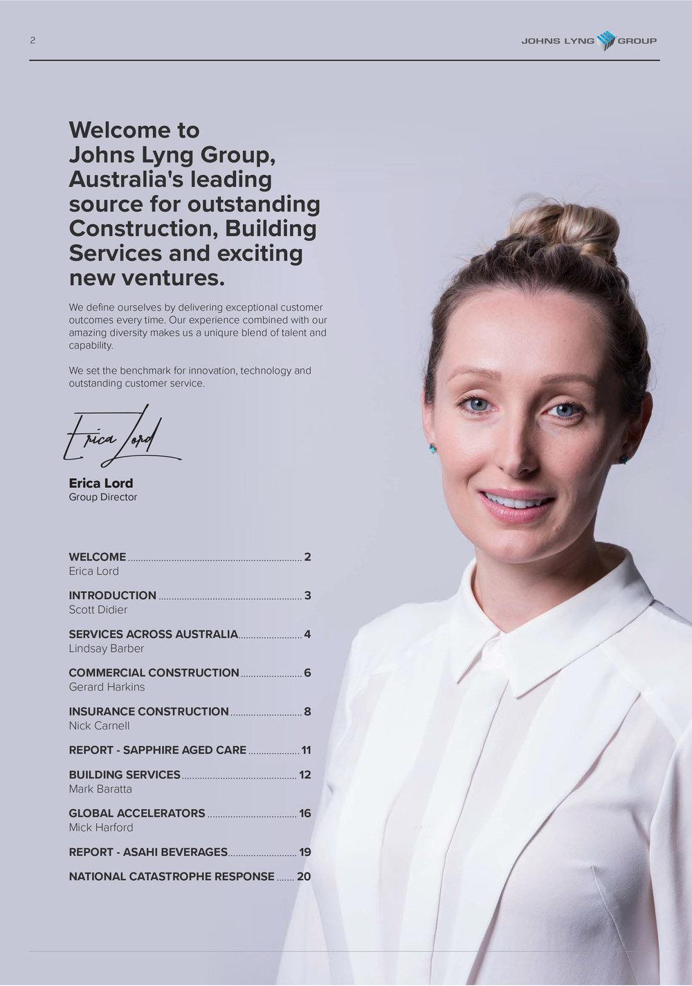 Corporate Brochure, JLG