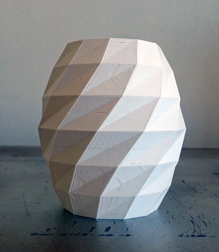 Création + impression 3D / Prototypes LowPoly ABS  ● Eté 2015
