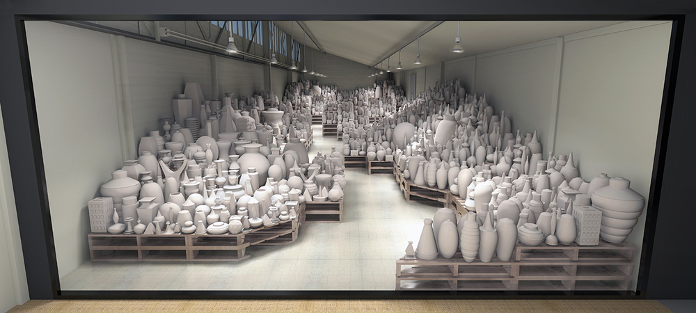 Conception +Rendu photoréaiiste de prévisualisation 3D /    Installation Drimme r    ● Printemps 2015