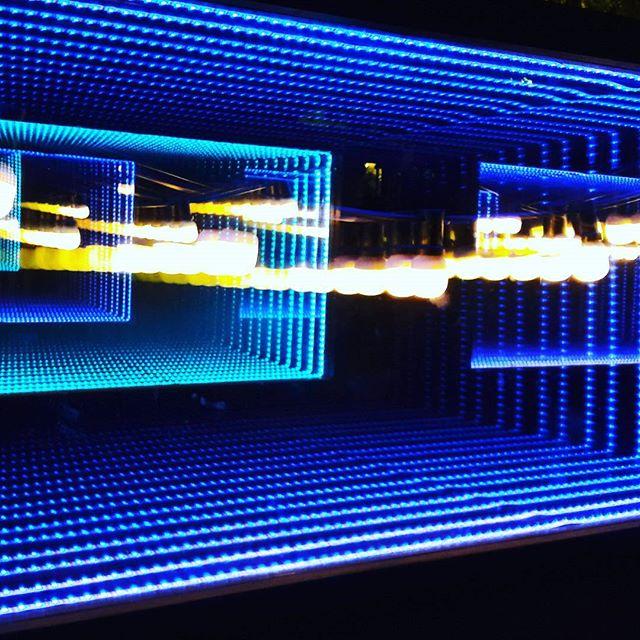 Lights in a box  #blue #lights #nightlife