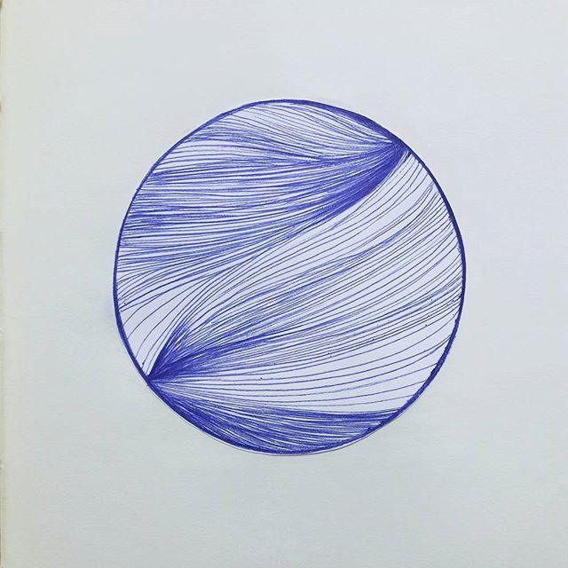 Softness of focus . #blue #line #illustration #artstagram #linelove #instaart #inspi #softness #drawing #sketchbook