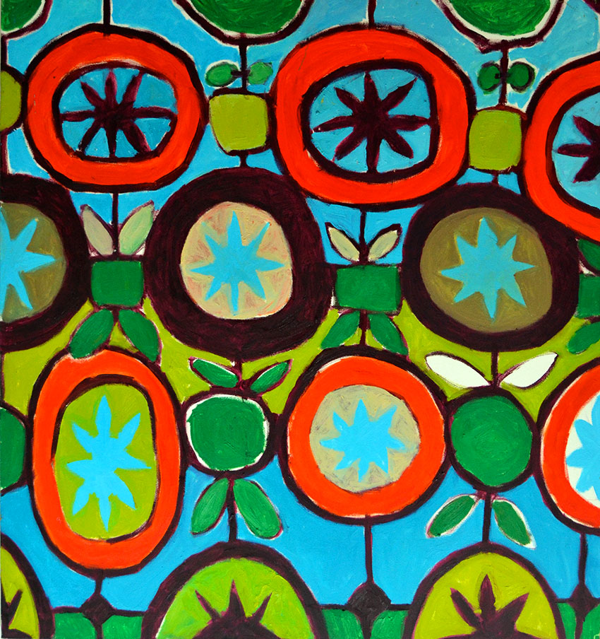 Pattern #16    -   150cm x 160cm, Oil on Canvas