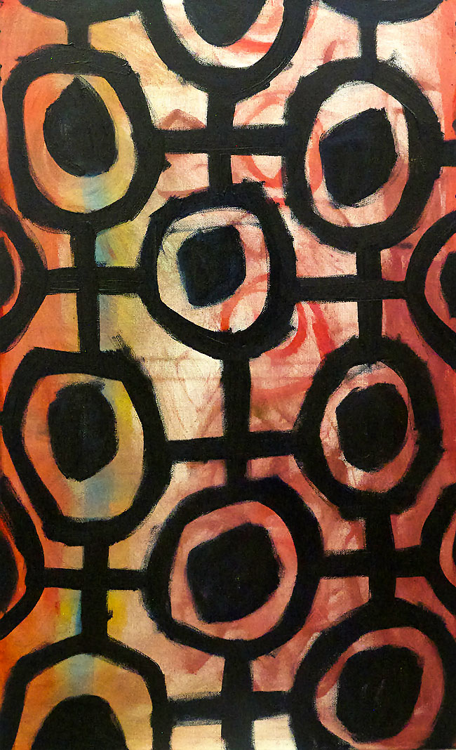 Pattern #20   -  80cm x 130cm,Oil on Canvas