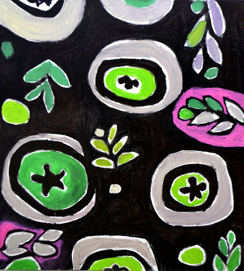 Pattern #31    -   140cm x 150cm, Oil on Canvas