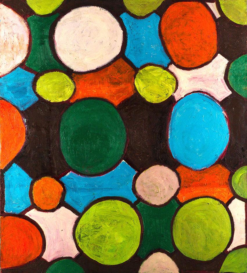 Pattern #6   -  160cm x 170cm,Oil on Canvas