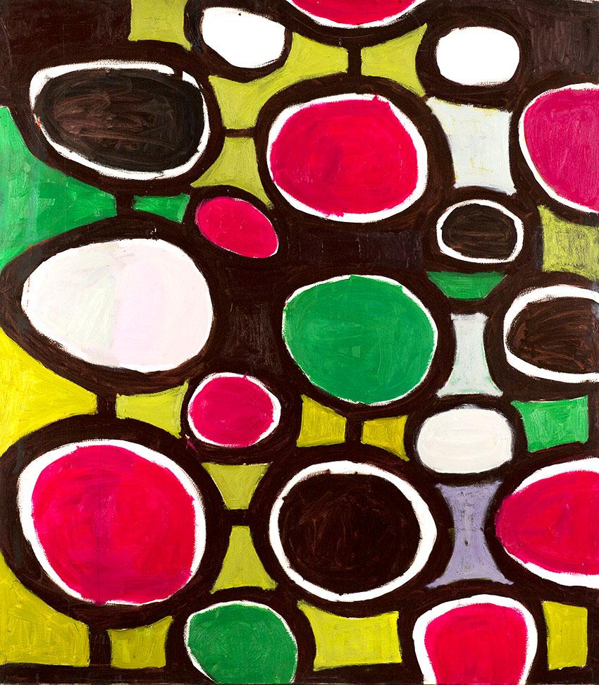 Pattern #11   -  150cm x 170cm,Oil on Canvas