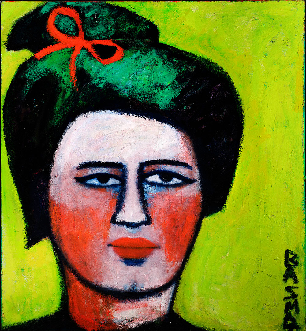 Tang Dynasty Lady    -   100cm x 110cm, Oil on Canvas