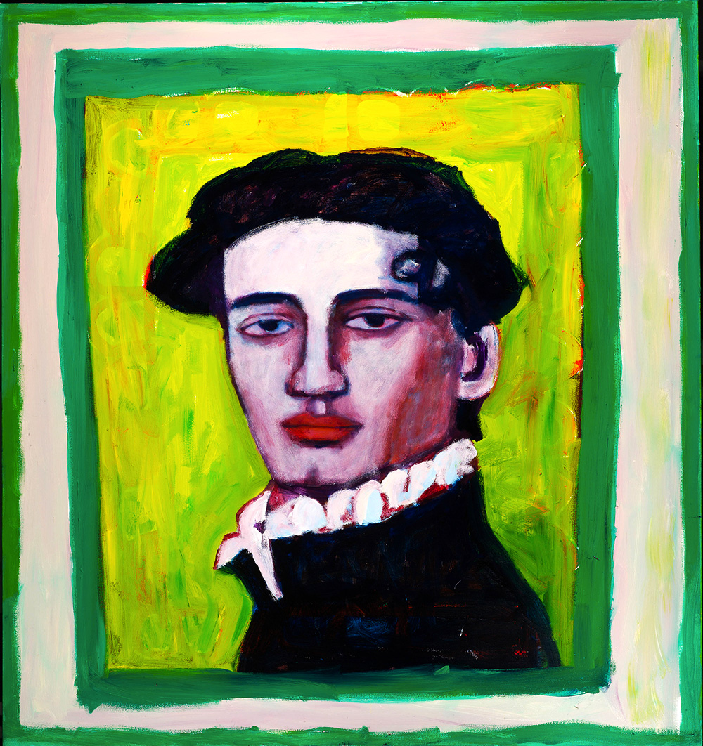 The Boy from the Met    -   170cm x 160cm, Oil on Canvas