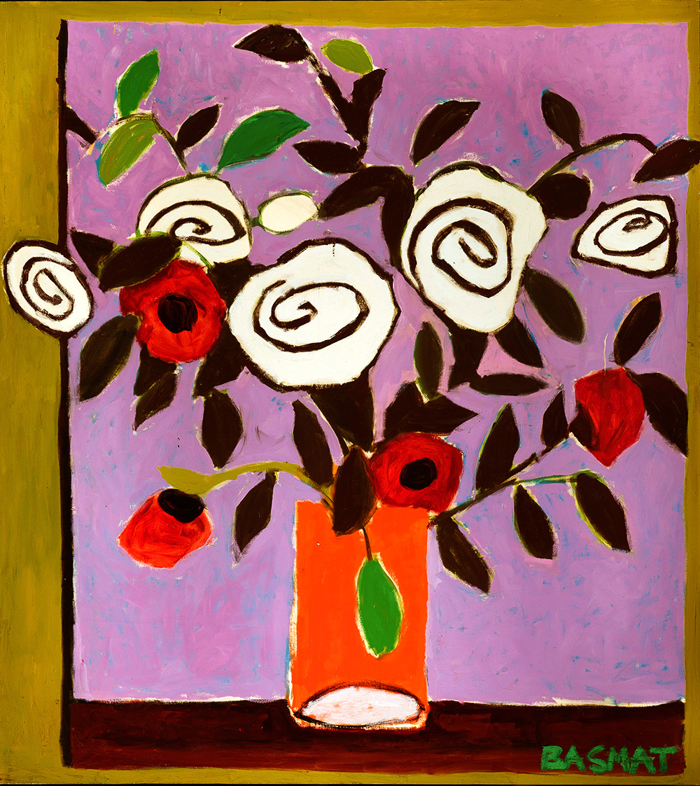 Flowers #4    -   230cm x 174cm, Oil on Canvas