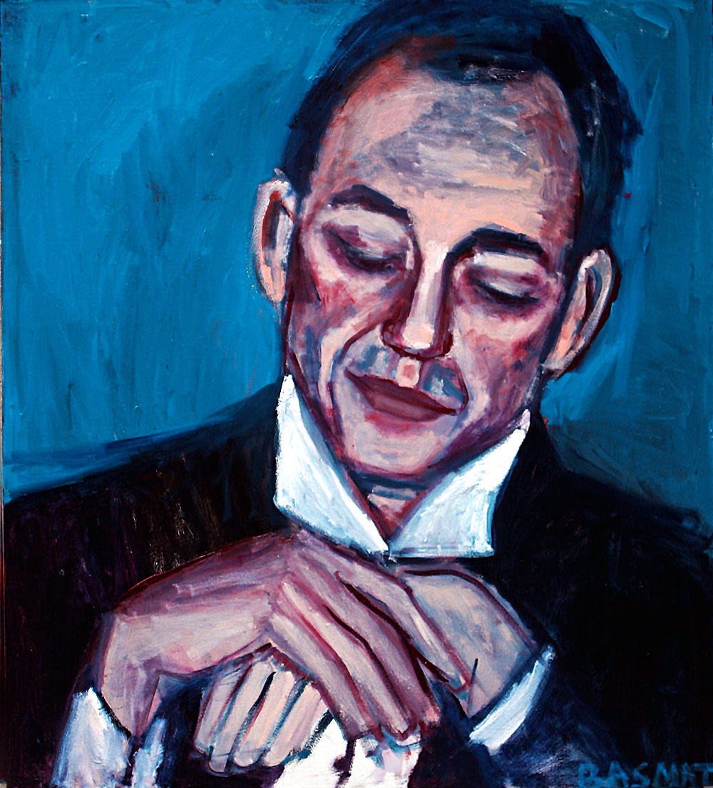 Fred    -   107cm x 117cm, Oil on Canvas