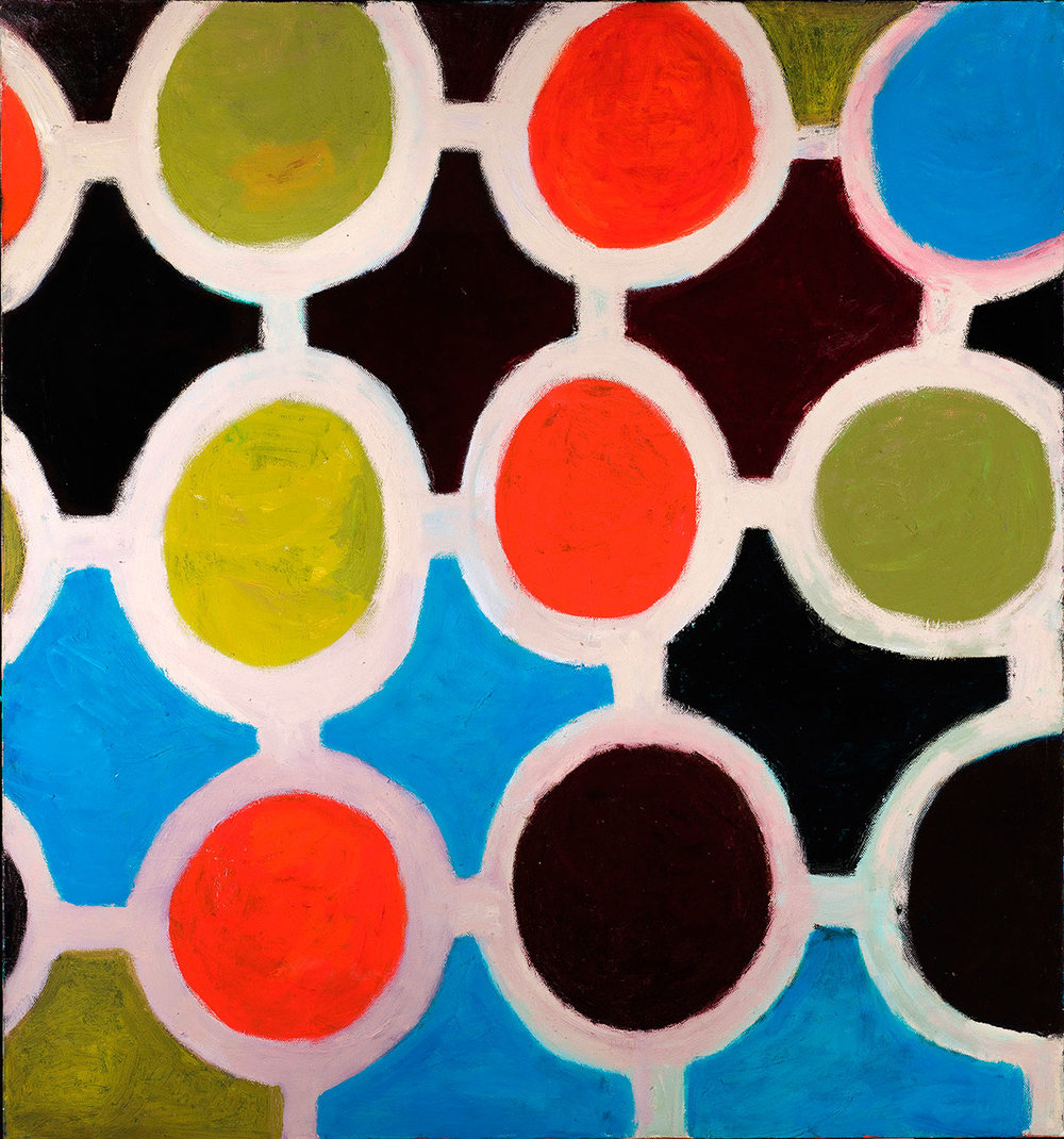 Pattern #36    -   80cm x 130cm, Oil on Canvas
