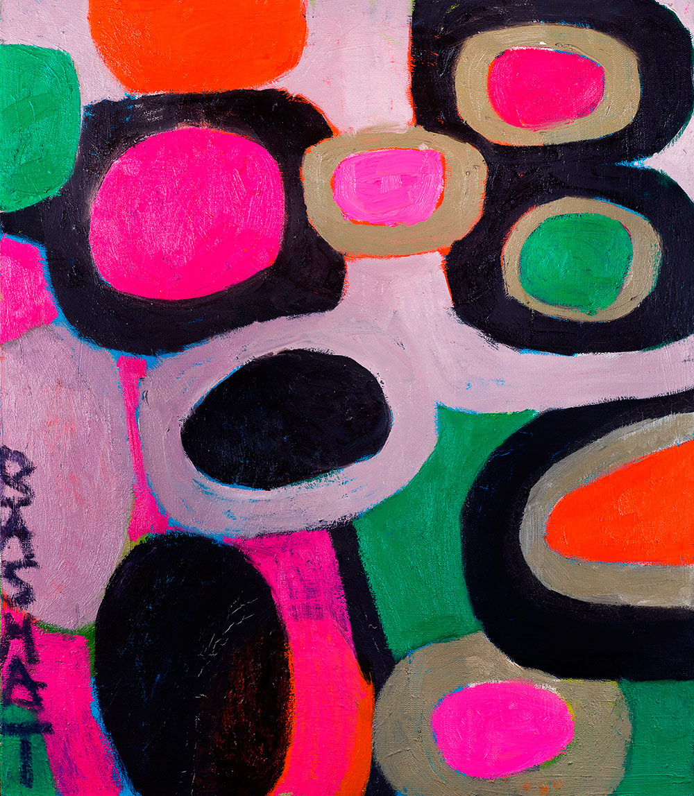 Pattern #37    -   80cm x 130cm, Oil on Canvas