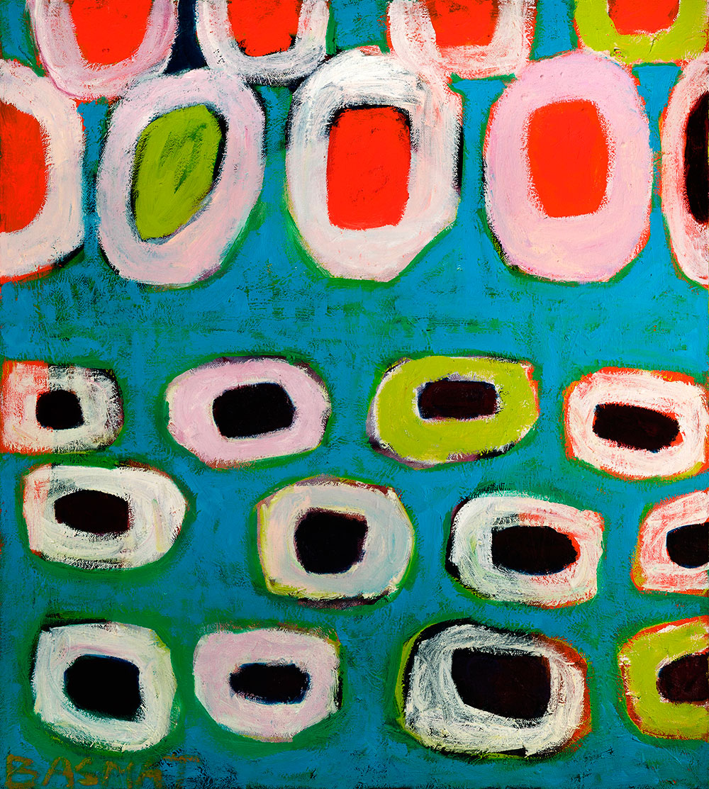 Pattern #43    -   80cm x 130cm, Oil on Canvas